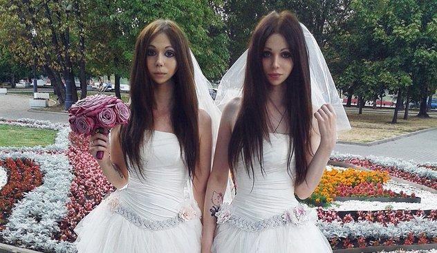 Mariée mariées russes pour le mariage