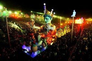 APTOPIX France Nice Carnival