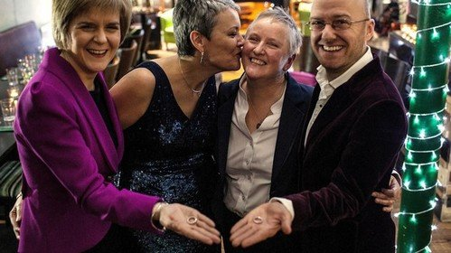 Same-sex weddings in Scotland