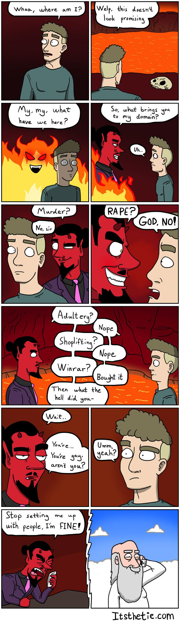 L'enfer puni les gays